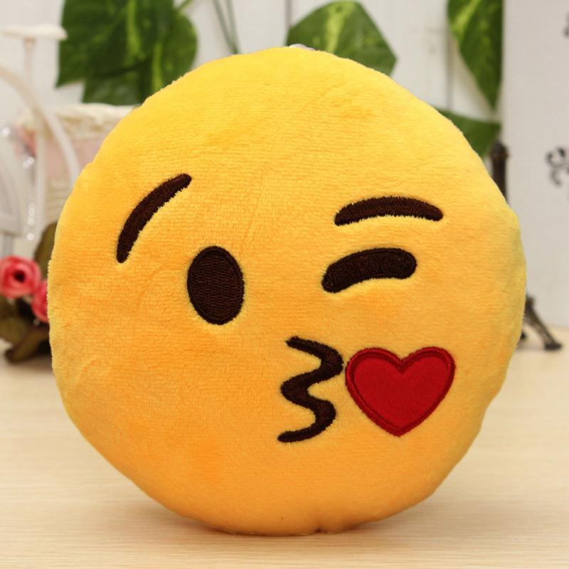 Μόδα 6 ίντσες Lovely Emoji Smiley Μαξιλάρια - Αρχική υφάσματα - Φωτογραφία 5