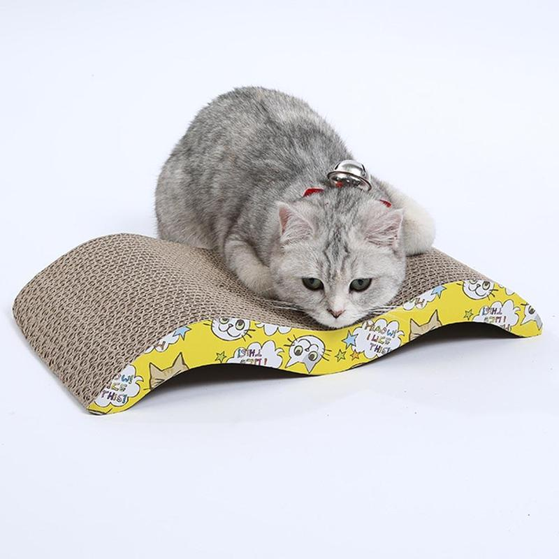 Cat Supplies Wide Cat Scratching Board With Catnip Rapid Heat Dissipation
