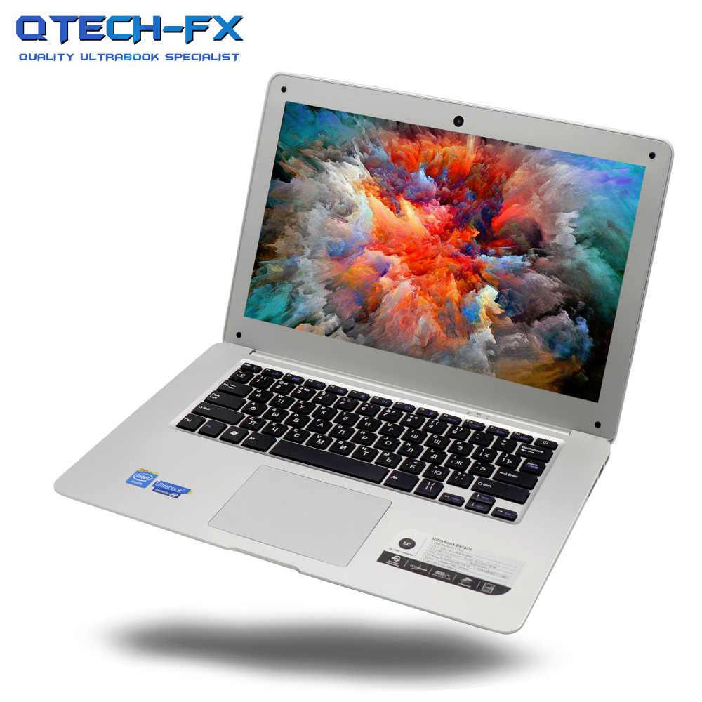 """פנטיום מחשב נייד 8GB RAM 500GB 1TB 1000GB HDD 14 """"Windows 10/7 מהיר מעבד Intel 4 core ערבית AZERTY גרמנית רוסית ספרדית מקלדת"""
