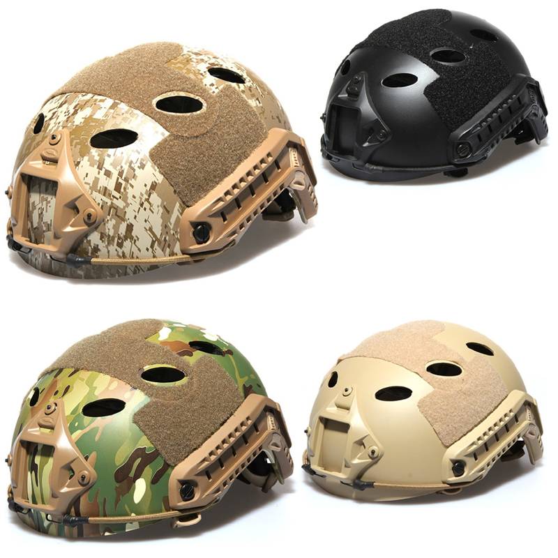 2017 New JPC Tactical Helmet Gear Outdoor Airsoft Helmet Voodoo Paintball Air Gun Live CS Game Protective Field hunting Helmet fire maple sw8888 outdoor tactical motorcycling wild game abs helmet black