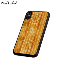 basketball court soft silicone edge cell phone cases for apple iPhone x 5s SE 6 6s plus 7 7plus 8 8plus XR XS MAX case буддийский сувенир buddha edge court