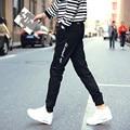 Горячие продажа 2016 новая мода мужская повседневная брюки Лучшие качества Марка одежды штаны прямой мужской брюки мужчины марка