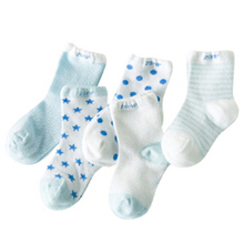 5Pairs Lot 2018 New arrival kid s children socks cotton socks candy male female cotton baby