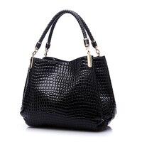 2016 Designer Handbag Women Leather Handbags Alligator Shoulder Bags High Quality Hand Bag Bolsas Feminina Womens