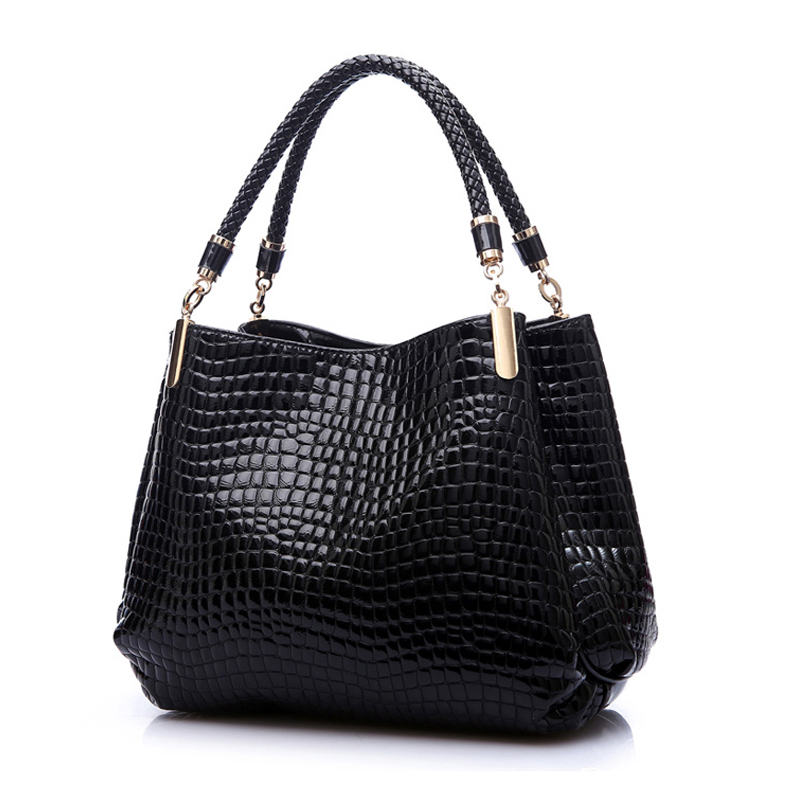 2016 Designer Handbag Women Leather Handbags Alligator Shoulder Bags High Quality Hand Bag Bolsas Feminina Womens Bag Sac A Main high quality shoulder bags designer 2017 handbag ladies small chain shoulder bags women bag bolsas fashion women s handbags