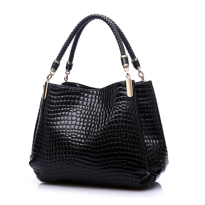 2017 Designer Handbag Women Leather Handbags Alligator Shoulder Bags High Quality Hand Bag Bolsas Feminina Womens