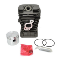 41mm Chainsaw Cylinder Kit With Piston Rings Fit Partner 350 Poulan HUS Parts