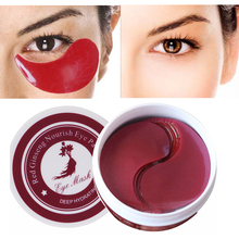 60Pcs Eye Mask Collagen Crystal Moisturizing Patches Anti Wrinkle Bag Sleeping Face Under the Care
