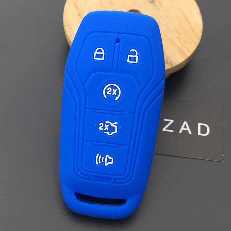 5 кнопок силиконовый чехол для автомобильного Брелока Для Ford aurus Mustang F-150 Explorer Fusion Mondeo Edge для LINCOLN MKC