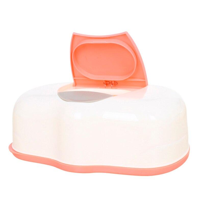 Plastique humide pour Mouchoir v/éritable pour Mouchoir s/ûr Bo/îte /à lingettes humides Home Tissue Holder Accessoires