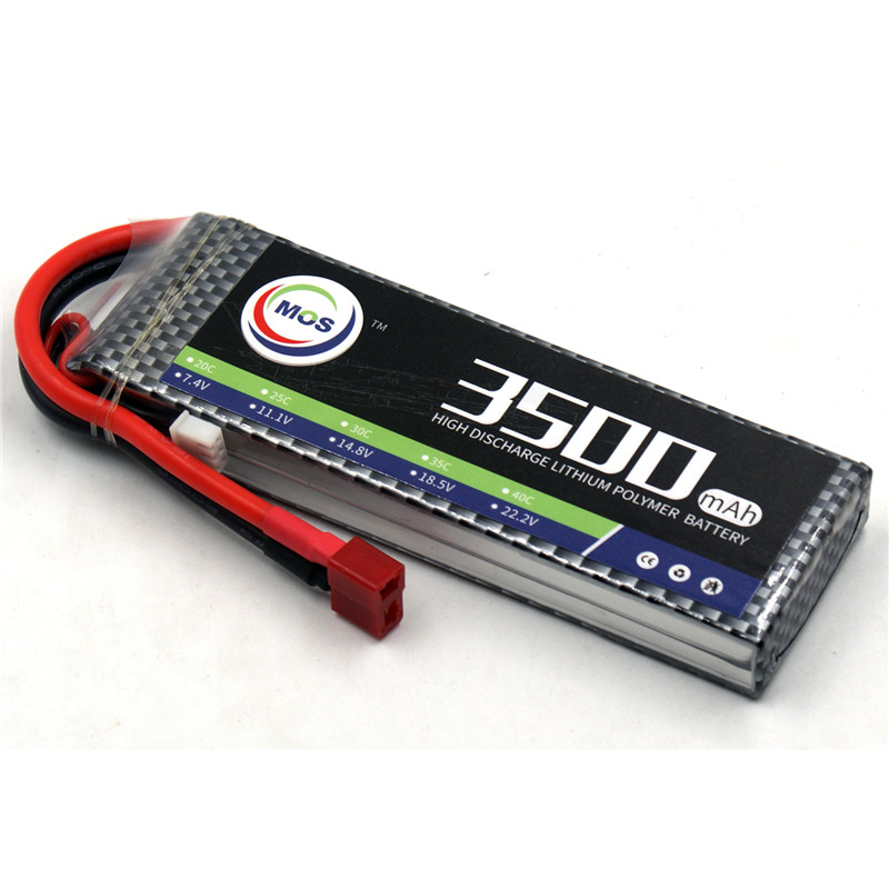 MOS RC LiPo Battery 2S 7.4V 3500mAh 35C Li-Po Batteries For RC Helicopter RC Car RC Boat Quadcopter Li-Polymer Batteria mos 5s rc lipo battery 18 5v 25c 16000mah for rc aircraft car drones boat helicopter quadcopter airplane 5s li polymer batteria