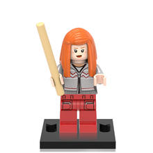 Single Sale XINH374 Ginny Minifigures Harry Potter Super Hero Building Blocks Models Children Christmas Gift Toys X0129