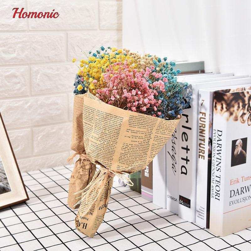 1Bouquet mini gedroogde ingedrukt bloem kunstmatige gedroogde - Feestversiering en feestartikelen - Foto 3