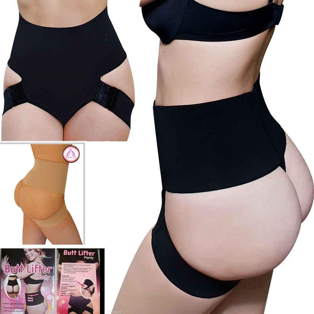 93664dd06 ... US Women Butt Lifter Shaper Bum Lift Pants Buttocks Enhancer Girdle  shorts Booty ...