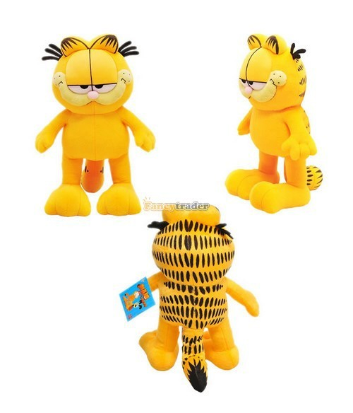 Fancytrader 51\'\'  130cm Super Cute Soft Giant Plush Garfield Cat, Nice gift for Child,Free Shipping FT90252 (2)
