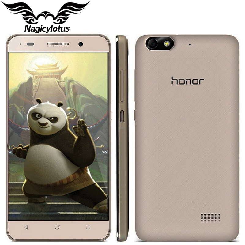 Original Huawei Honor 4C Enhanced Edition 4G LTE Mobile Phone 5 0 inch Android 4 4