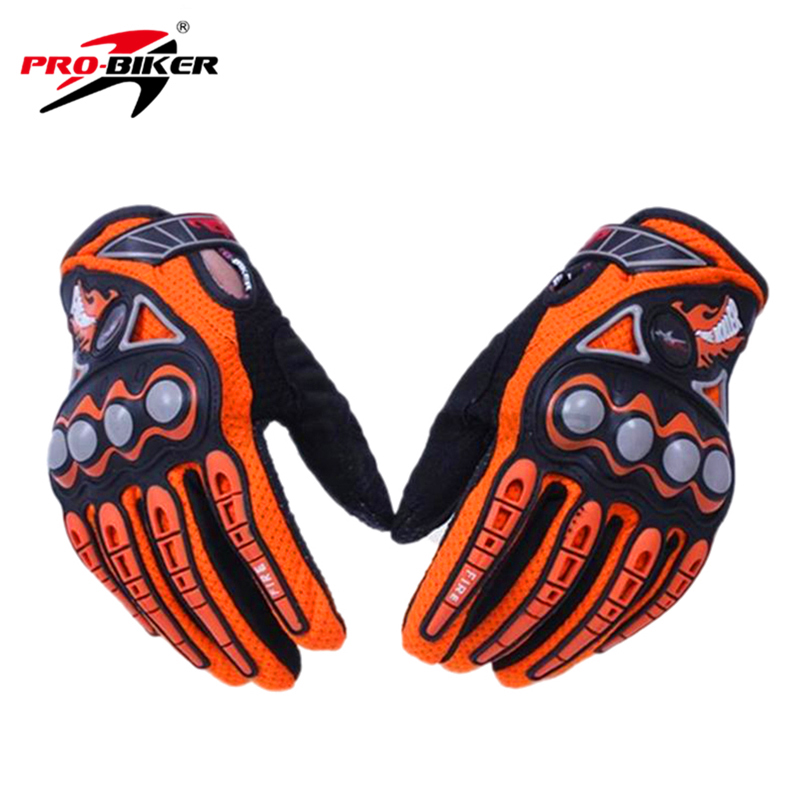 PRO-BIKER Men Motorcycle Racing Gloves Dirt Bike Cycling Gloves Motocross Off-Road Enduro Full Finger Riding Gloves Size: M L XL scoyco motorcycle gloves motorbike enduro dirt bike riding gloves moto breathable motorcross off road racing gloves