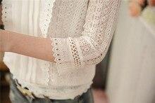 Women Blouses Korean Style Ladies Chiffon Shirts (size M-XL)
