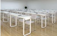 Бесплатная доставка Современный Настольный для обучения персонала. Длинные столы.