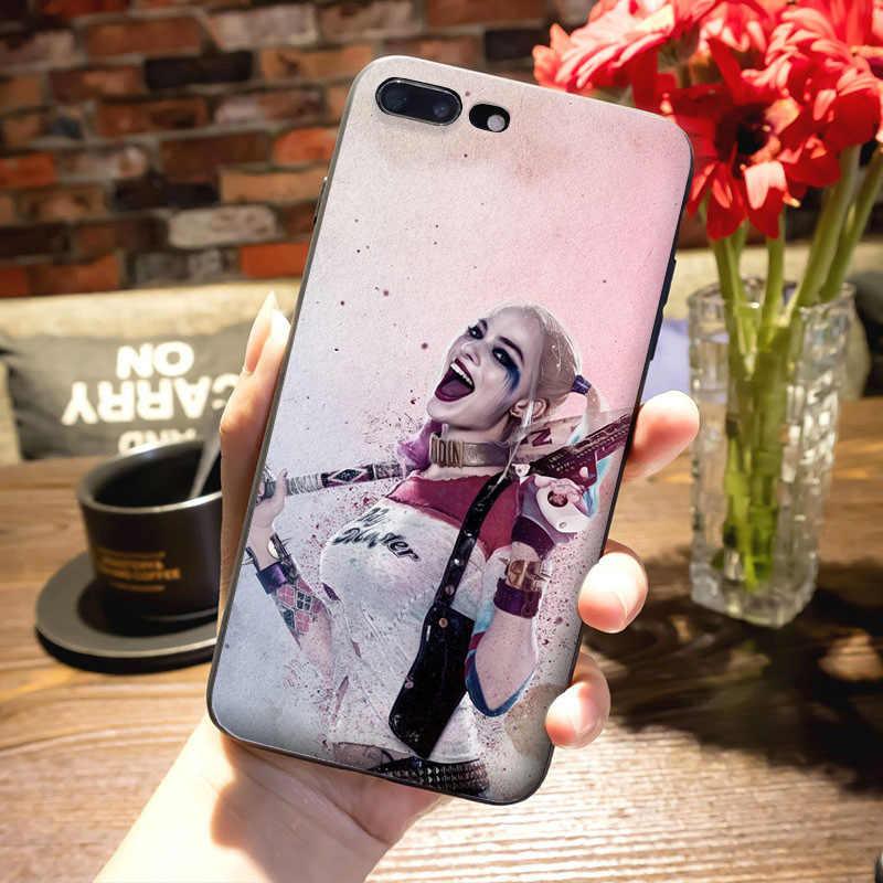 MaiYaCa ハーレークイン自殺分隊パターン高級アクセサリー Apple iphone 11 プロ 8 7 66S プラス X 5S 、 SE XS XR XS 最大