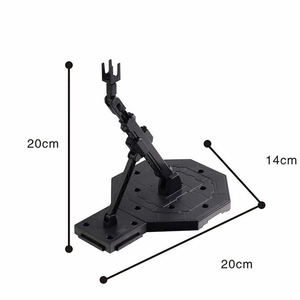 Image 4 - Tronzo Action Figure Accessories Universal Figure Stand Support Bracket Base Robot Gundam Model Display Base For MG HG BB