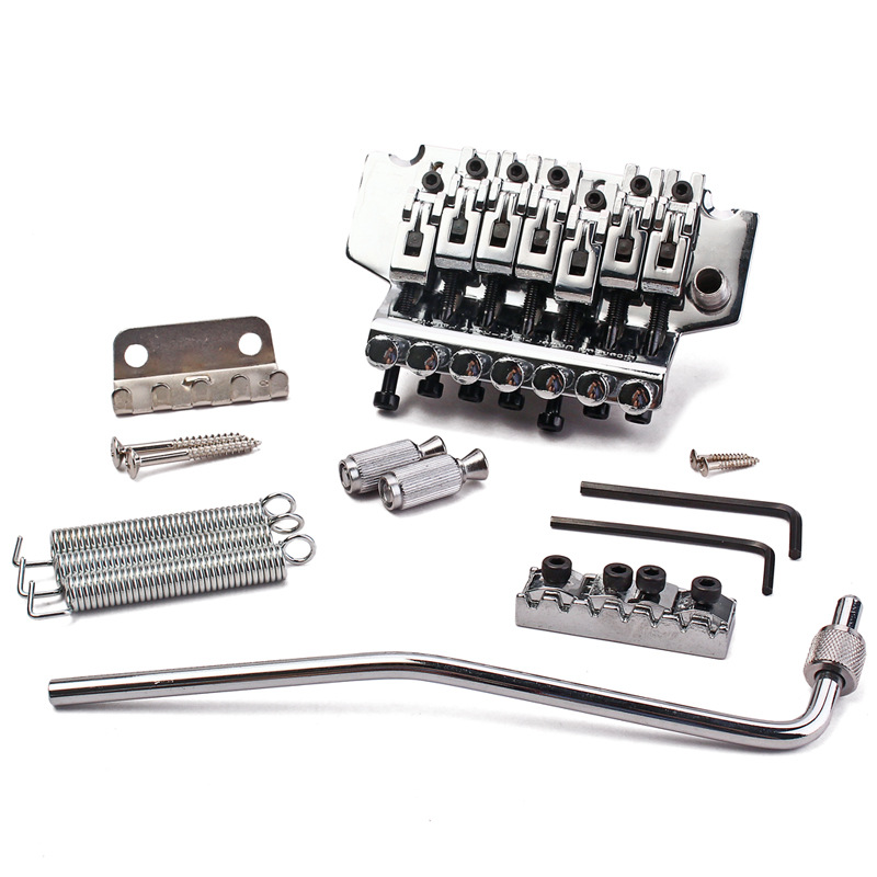 Musical Instrument Accessories Guitar Accessories Electric Guitar Bridge Double Arms Tremolo System