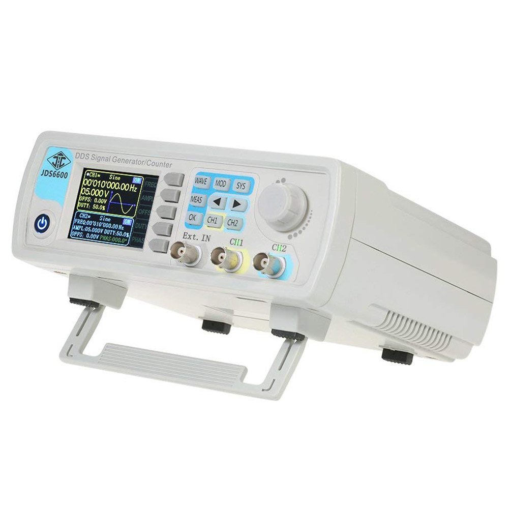 Dual channel digital DDS function arbitrary pulse signal generator 1Hz-100MHz frequency meter 200MSa / s 30MHz European plugDual channel digital DDS function arbitrary pulse signal generator 1Hz-100MHz frequency meter 200MSa / s 30MHz European plug