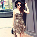 Short A Line sexy Bridesmaid dresses Sweetheart Leopard grain Wedding guest Dresses Homecoming Dresses Party Gowns   Z444