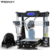 Tronxy 2016 Upgraded Quality High Precision Reprap 3D Printer Prusa I3 DIY Kit P802M