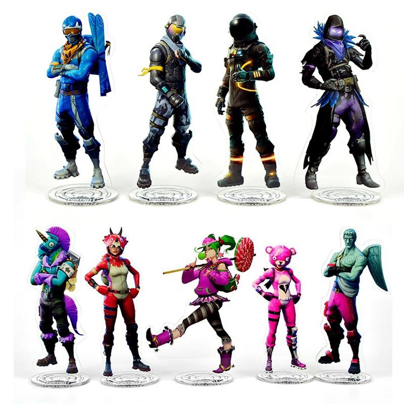 Fortnite Figure Acrylic Stand Toys fortnite battle royale model Fortnite Llama figure for kids toys 21cm