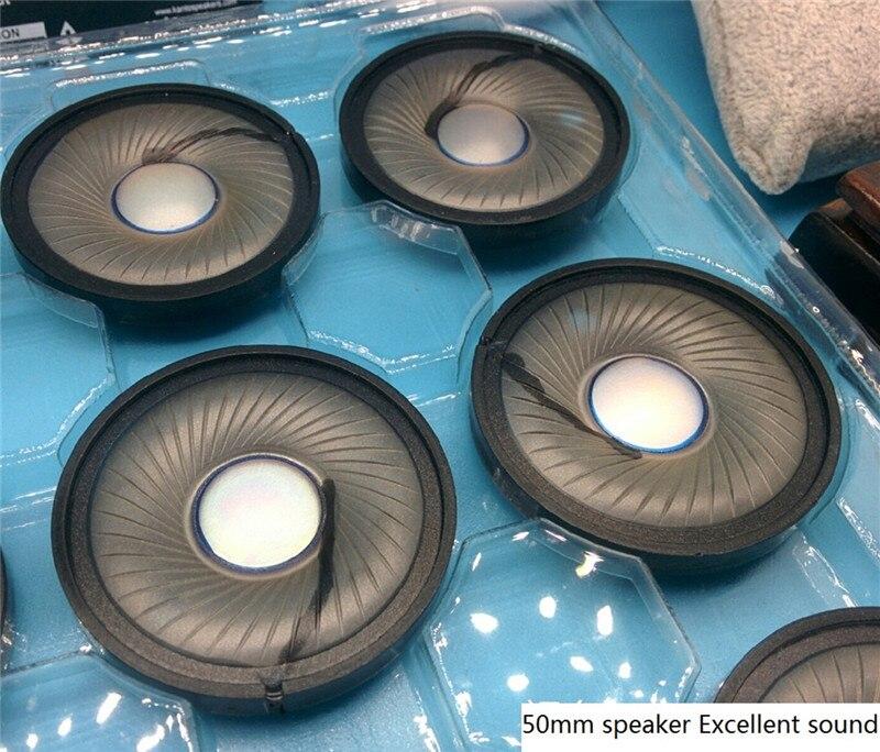 Neue 50mm Lautsprechereinheit für DIY headset ausgezeichnete sound Graphene membran Klare stimme klang Tiefe bässe hoch empfohlen