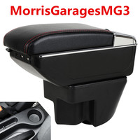 For MorrisGaragesMG3 mg3 armrest box central Store content Storage box with cup holder ashtray USB interface products 2007 2016
