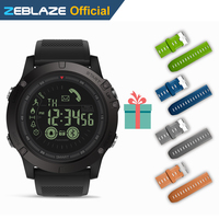 Hot Zeblaze VIBE 3 Flagship Rugged Smartwatch 33 Month Standby Time 24h All Weather Monitoring Smart