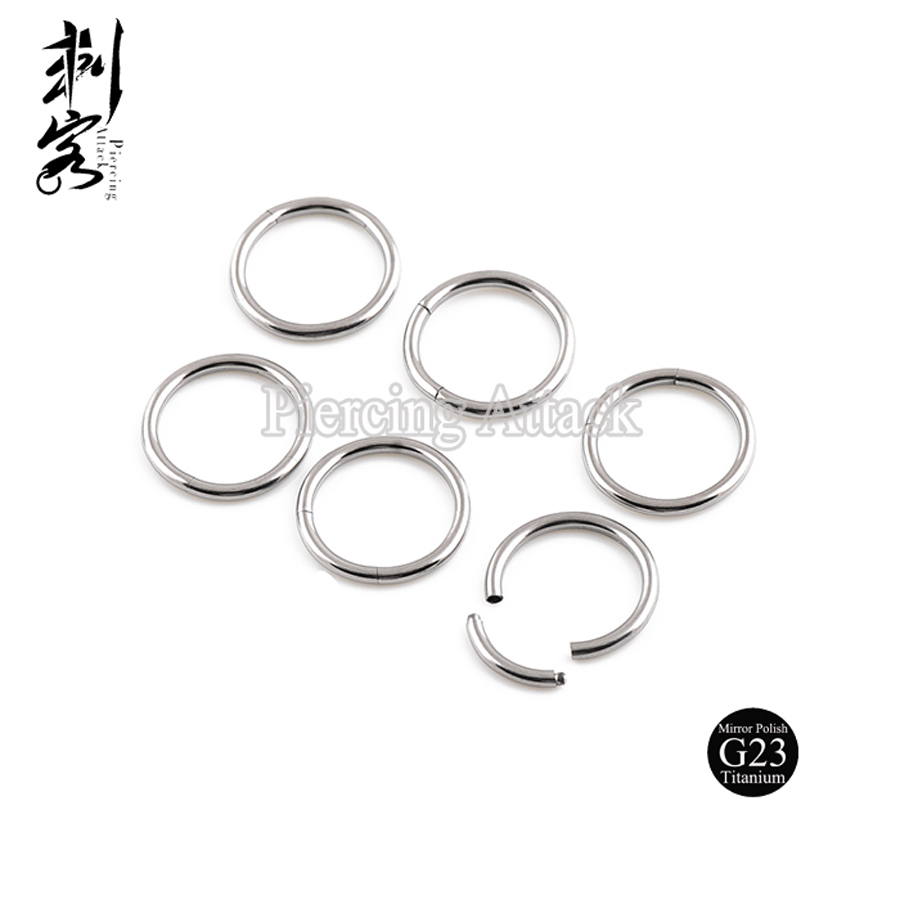 Sizes Anium Segment Captive Ring