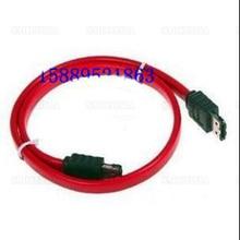 10pcs- 100pcs 3m Esata-esata Data Cable Hard Disk Box Socket With Shield Red Wire