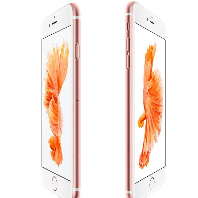 Used Original Unlocked iPhone 6s Plus 5.5 inch  2GB RAM 16GB/32GB/64GB/128GB WCDMA 4G LTE 3
