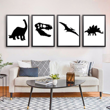 Jurassic Park Dinosaur Nordic Poster And Prints Wall Art Canvas Painting Pictures For Living Room Kids Bedroom Home Decor
