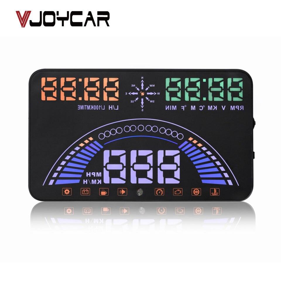 VJOYCAR S7 OBD & GPS Système HUD HUD Head Up Display OBD II Interface Moteur Alarme de Défaut Dynamique Vitesse 20 sortes de Données Fonctionnelles
