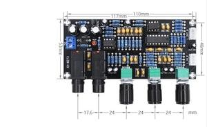 Image 2 - DC 12 В 24 В PT2399 Плата усилителя цифрового микрофона реверберация караоке OK ревербератор усилитель NE5532 предусилитель тональная плата