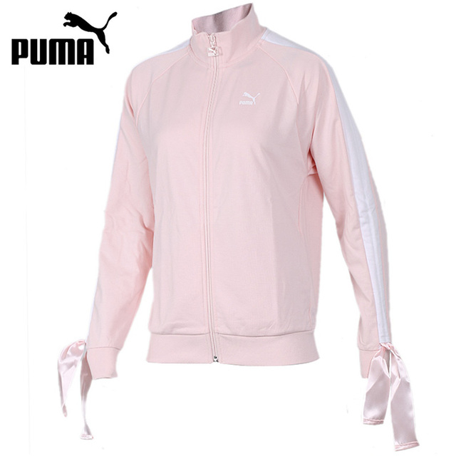 10083caaa0df2 US $102.0 |Original New Arrival 2018 PUMA Bow Track Women's jacket  Sportswear-in Running Jackets from Sports & Entertainment on Aliexpress.com  | ...
