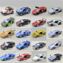 1:32 Mazda NISSAN GTR TOYOTA FT 1 HONDA Diecast Toy Cars Alloy Vehicles Simulation Models Door Open Children Fast And Furious(China)