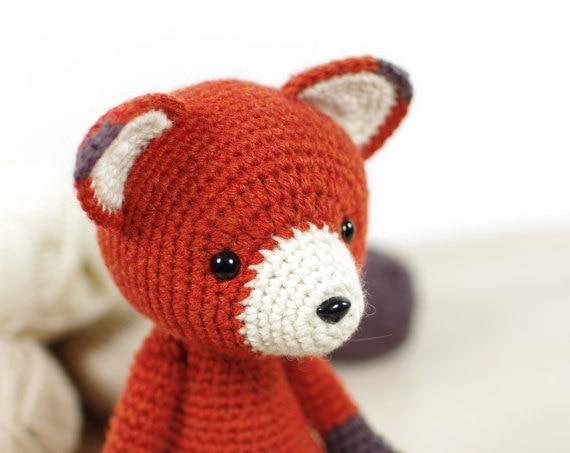 Ravelry: Red Panda Mod Kit pattern by Kamidake Fiber Arts | 453x570