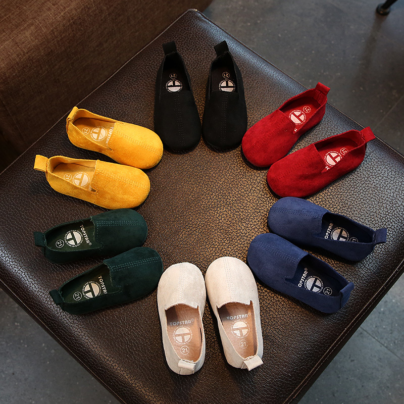 2018 Spring New Fashion Girls Shoes Kids Flat Outdoor Home Slipper Boys Genuine Leather Casual Shoes Super Soft And Comfortable2018 Spring New Fashion Girls Shoes Kids Flat Outdoor Home Slipper Boys Genuine Leather Casual Shoes Super Soft And Comfortable