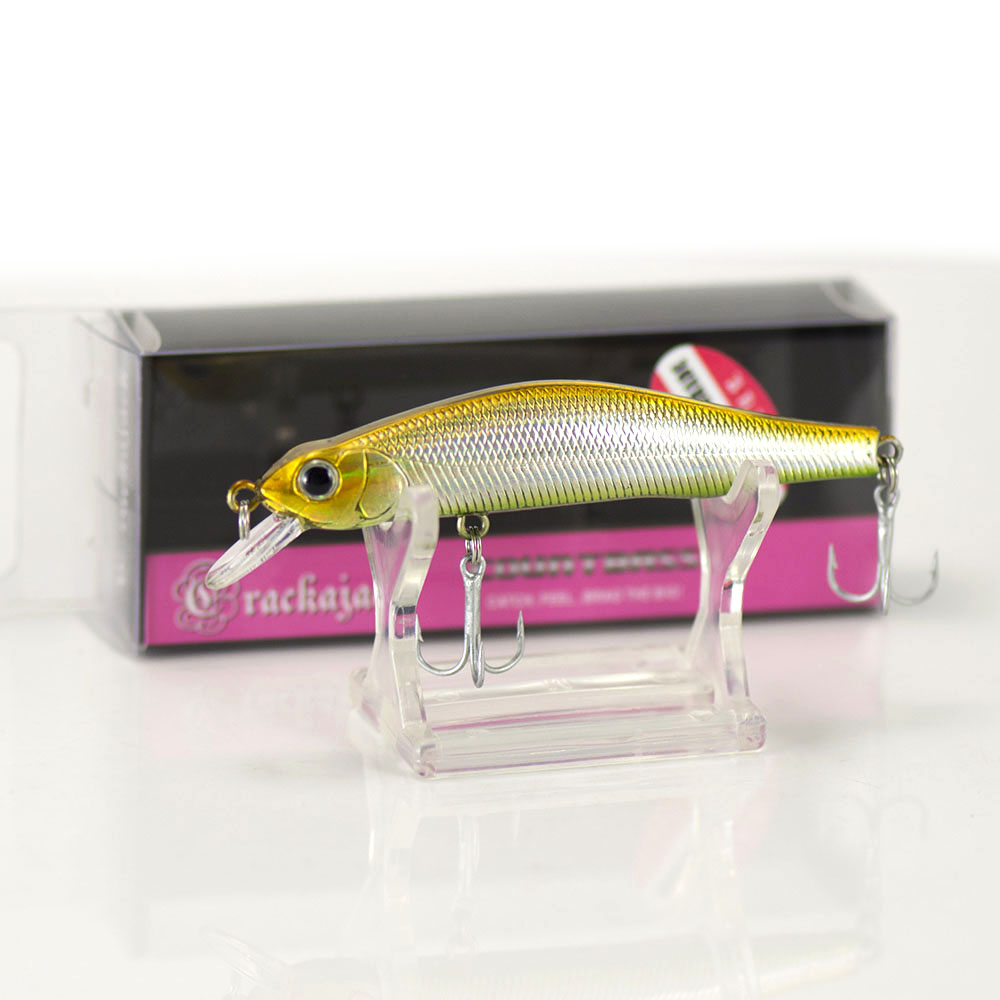 82mm 8 9g Magnet Weighted Minnow Hard Bait Fishing Plastic Lures, Countbass  Crappie Fishing Bait Shad