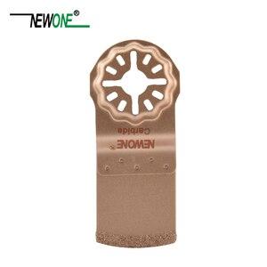 Image 2 - STARLOCK tipi tek parça NEWONE e cut dairesel karbür ve elmas salınan çok aracı testere bıçakları üçgen törpü