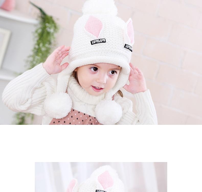 Doitbest/бархатные шапки для мальчиков от 2 до 6 лет, шерстяные шапки с кошачьими ушками однотонная зимняя вязаная шапка для маленьких детей, детские шапки с ушками для девочек