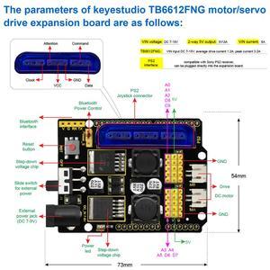 Image 3 - Keyestudio 4DOF Acrylic Toys Robot Mechanical Arm Claw  Kit for Arduino DIY Robot