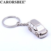 Fashion Alloy Car KeyChain silver Car model Key Chains Metal Key Ring Auto KeyRings for Jeep SUV Women Men Gifts Key Holder
