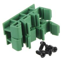 Free shipping1pair DIN Rail Mounting feet PCB Support ~ C45 35mm Screw Terminals Socket Base(China (Mainland))