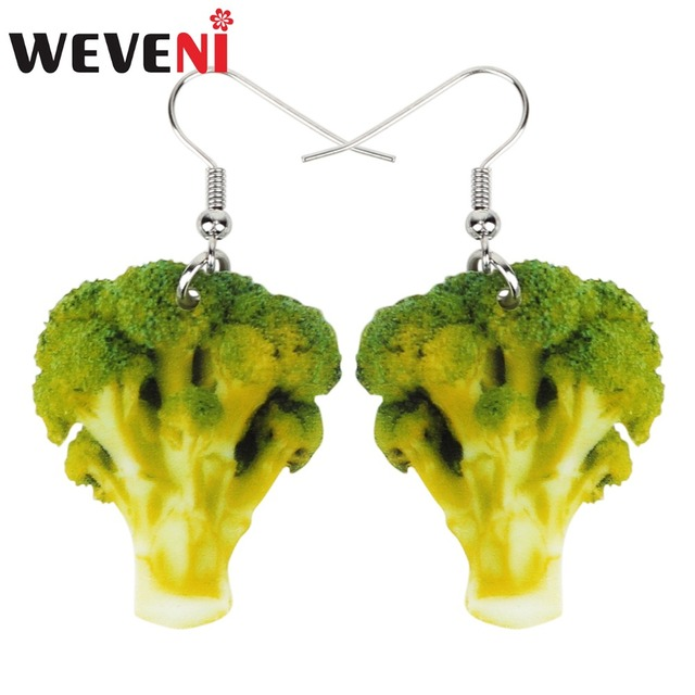 Kolczyki brokuły - aliexpress